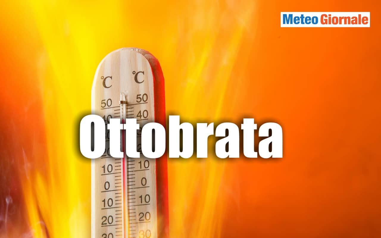 ottobrata - Meteo con Anticiclone africano in Ottobre? Altamente probabile un'ottobrata