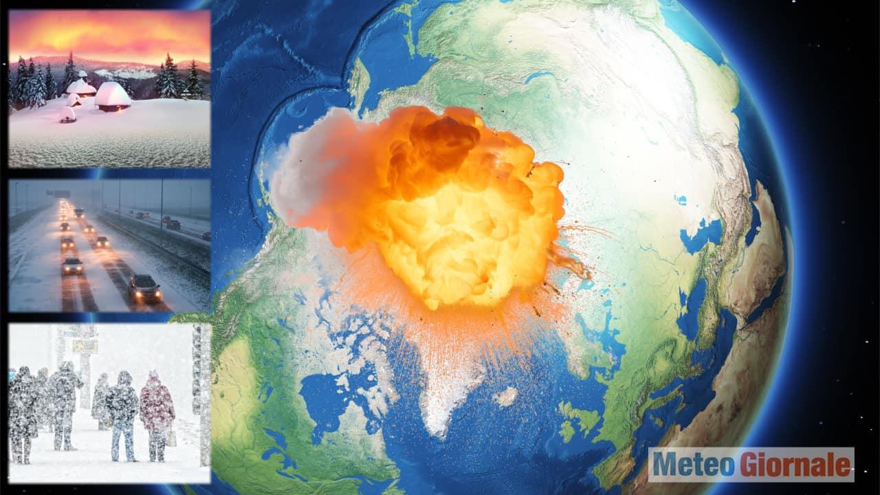 stravolgimento inverno - Meteo invernale stravolto dai cambiamenti climatici e La Nina