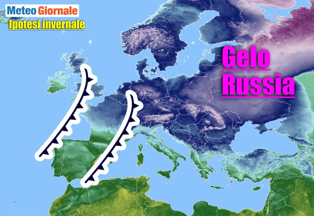 tendenza meteo climatica invernale - Da un eccesso all'altro: venti dall'Artico previsti in Europa