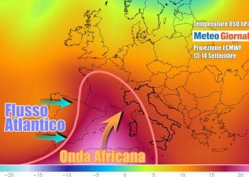 Continua un settembre piuttosto caldo anche sull'Italia
