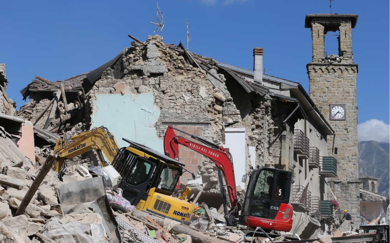 terremoto amatrice - I terremoti d'Italia hanno una magnitudo devastante