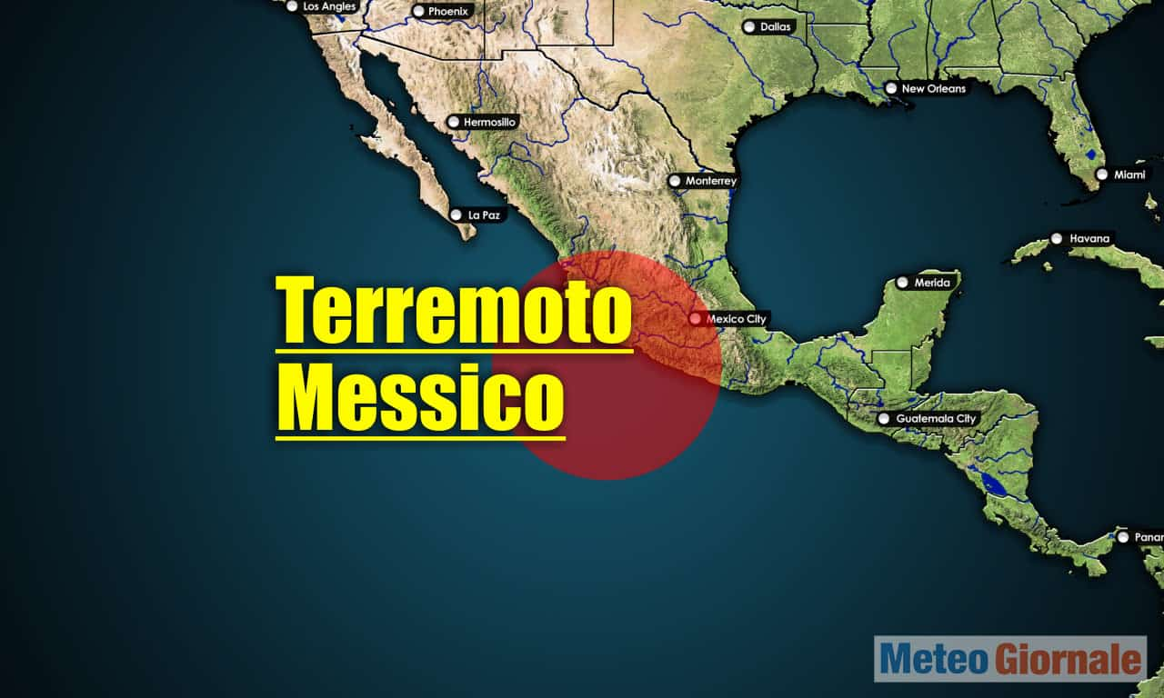terremoto messico - TERREMOTO devastante in Messico