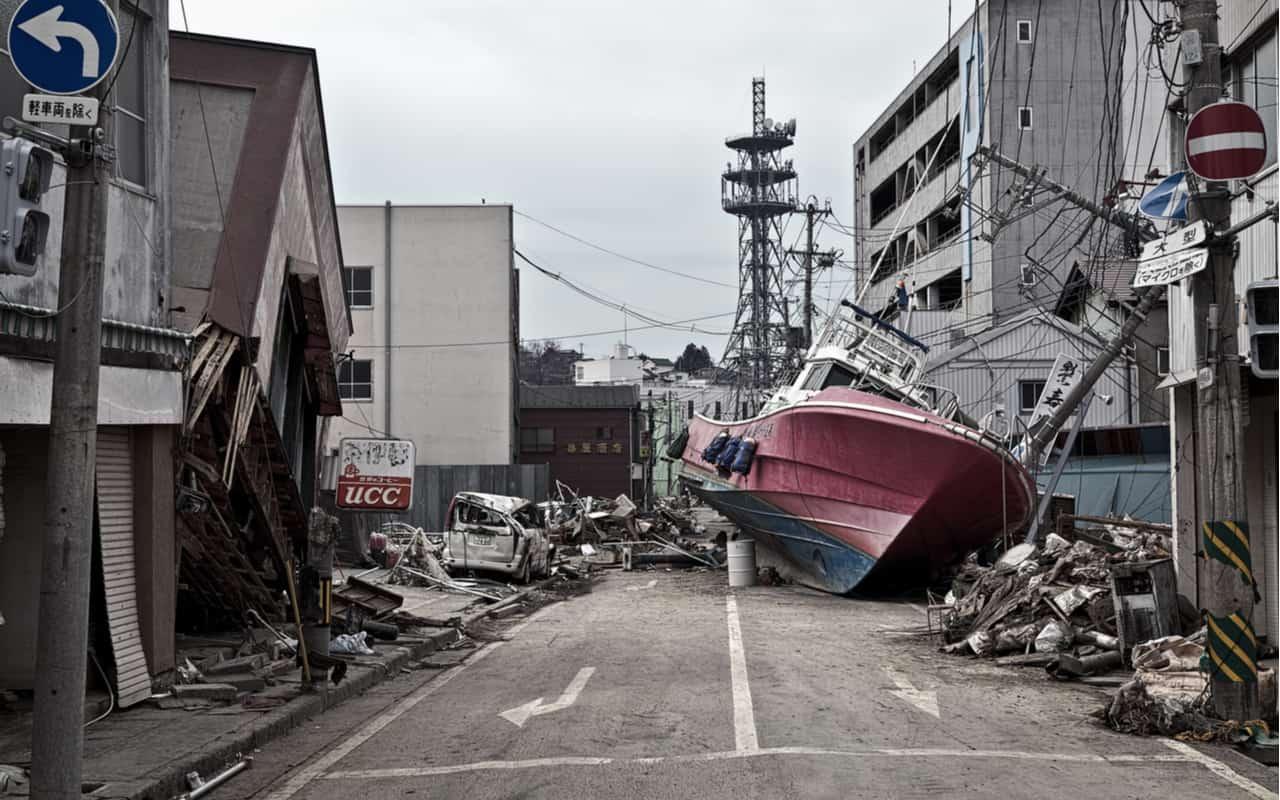 tsunami - L'Onda di maremoto di oltre 500 metri il 9 luglio 1958