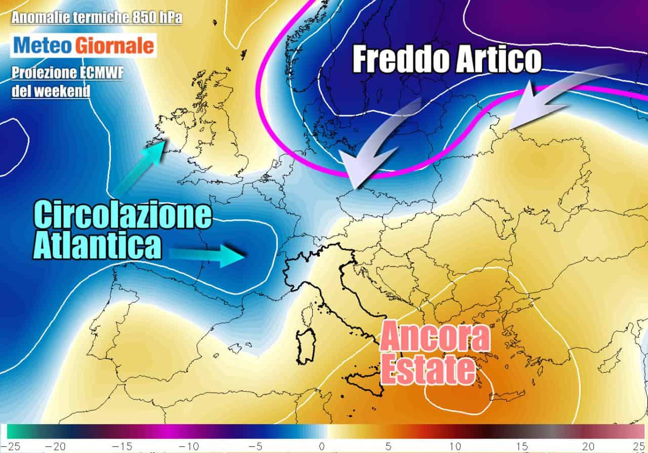 weekend freddo europa orientale - Novità Meteo, dall'Europa dell'Est il FREDDO PRECOCE inizierà a far sul serio