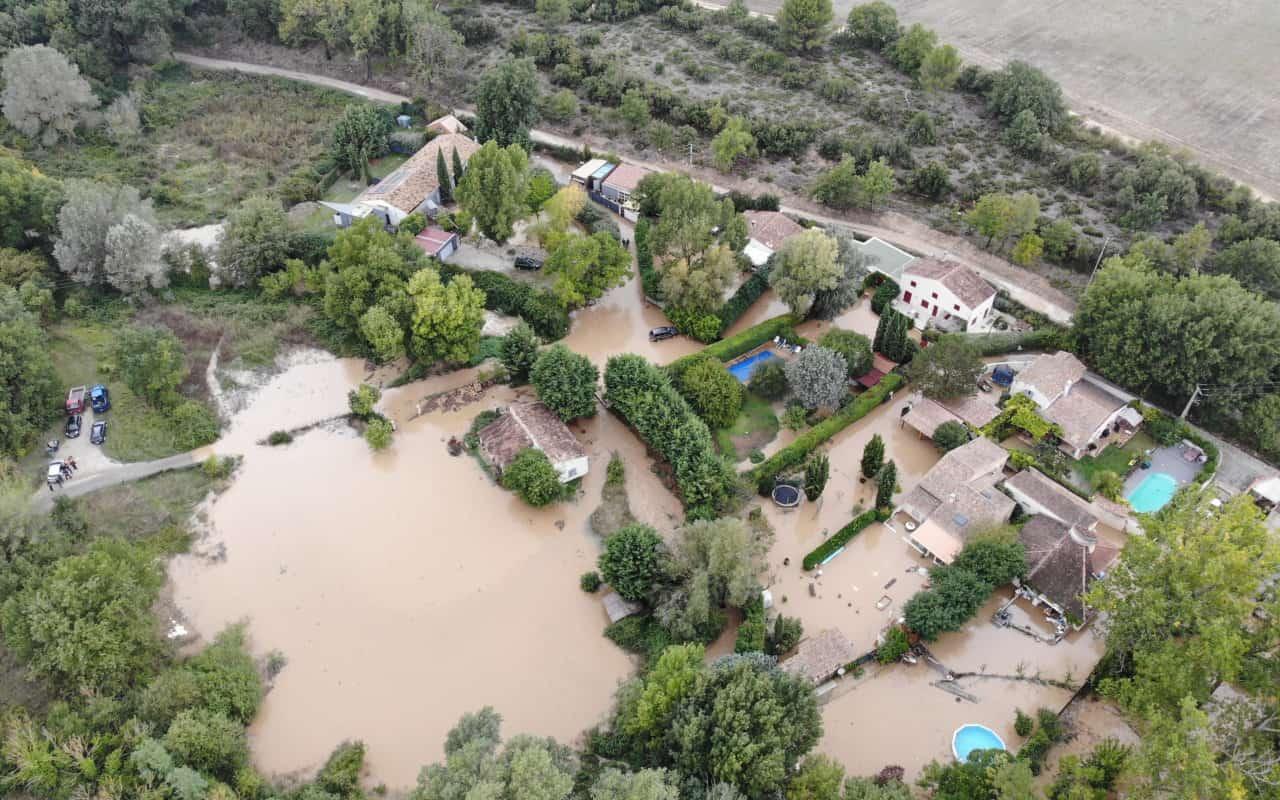 alluvione francia - 3 mesi di pioggia in 48 ore: meteo estremo anche in Francia