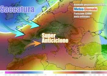 Le perturbazioni atlantiche ci proveranno in settimana, dopo la parentesi anticiclonica