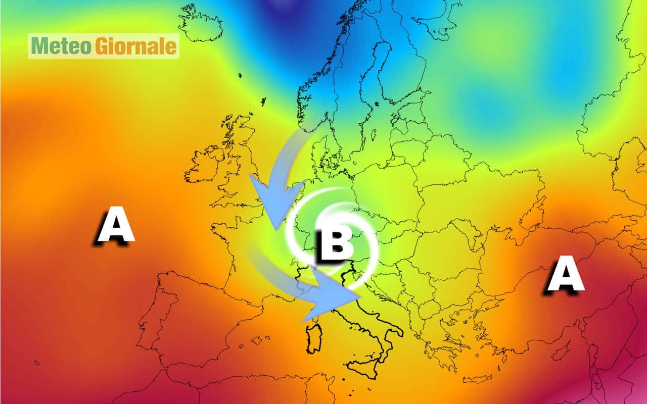 freddo 3 - Sempre più FREDDO da qui a una settimana: Italia, è meteo anomalo