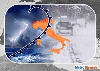 Inizio novembre all'insegna del maltempo con piogge diffuse, salgono le probabilità