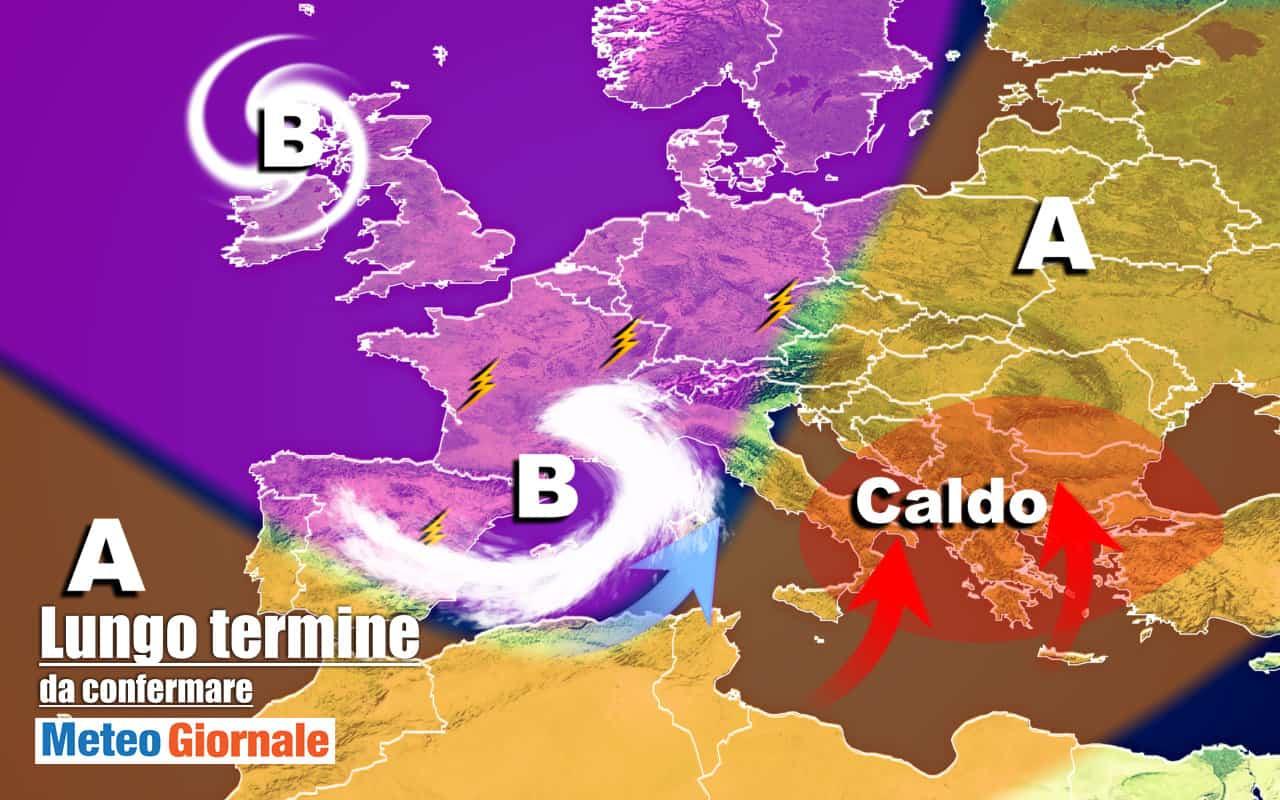 lungo termine 10 - METEO Italia al 28 Ottobre, ondata di CALDO poi PEGGIO