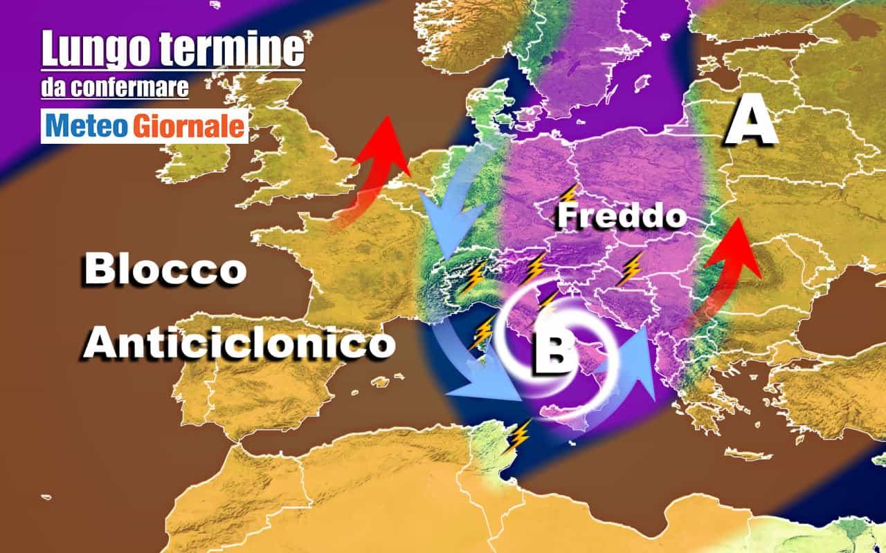 lungo termine 5 - METEO Italia al 22 Ottobre, AUTUNNO avanzato in molte regioni