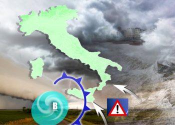 maltempo sud italia 350x250 - METEO GIORNALE, previsioni meteo, scienza, astronomia, geologia, video