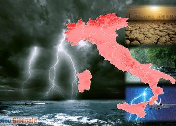 meteo con forti temporali 350x250 - Pessime notizie sul fronte meteo: violenti nubifragi in arrivo