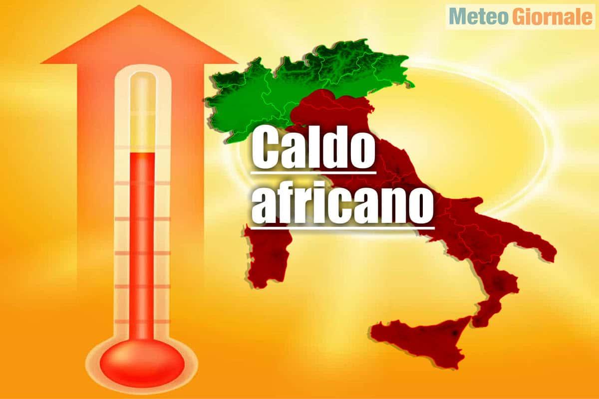 meteo con ottobrata da caldo africano - CALDO africano, torna con il meteo dell'ottobrata