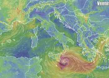 meteo con tlc o ciclone mediterraneo