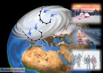 meteo invernale precoce 350x250 - Meteo con AFFONDO POLARE in Europa. La Primavera rischia uno STOP