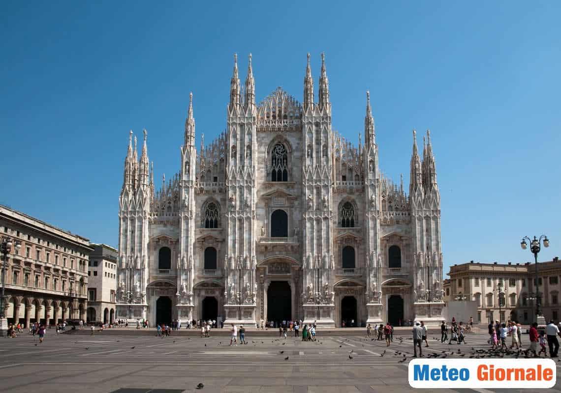 meteo locale 00580 - Meteo MILANO: ormai è autunno