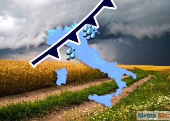 Fronte autunnale sull'Italia dove finora latita il classico autunno