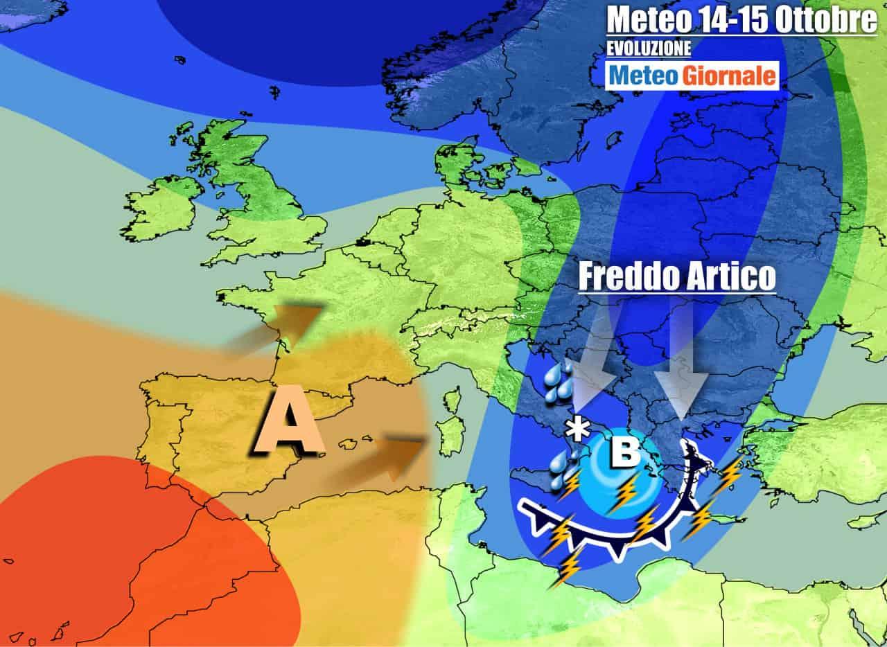 meteogiornale previsioni 7 giorni 11 - Meteo 7 Giorni. Altro ASSALTO FREDDO dall'ARTICO, con ROVESCI e NEVE