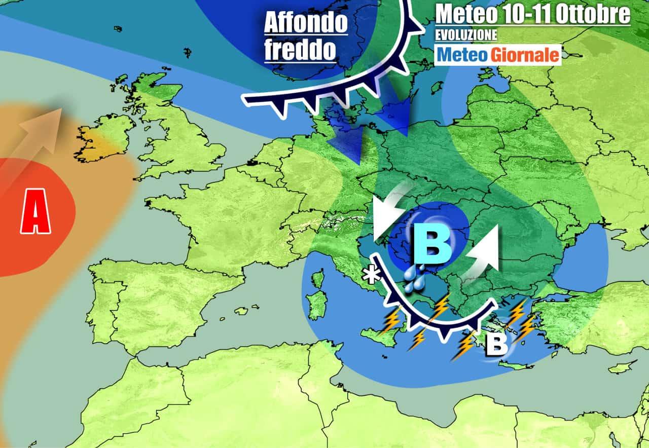 meteogiornale previsioni 7 giorni 7 - Meteo 7 Giorni. Italia sferzata da un CICLONE, nuovo IMPULSO FREDDO in arrivo