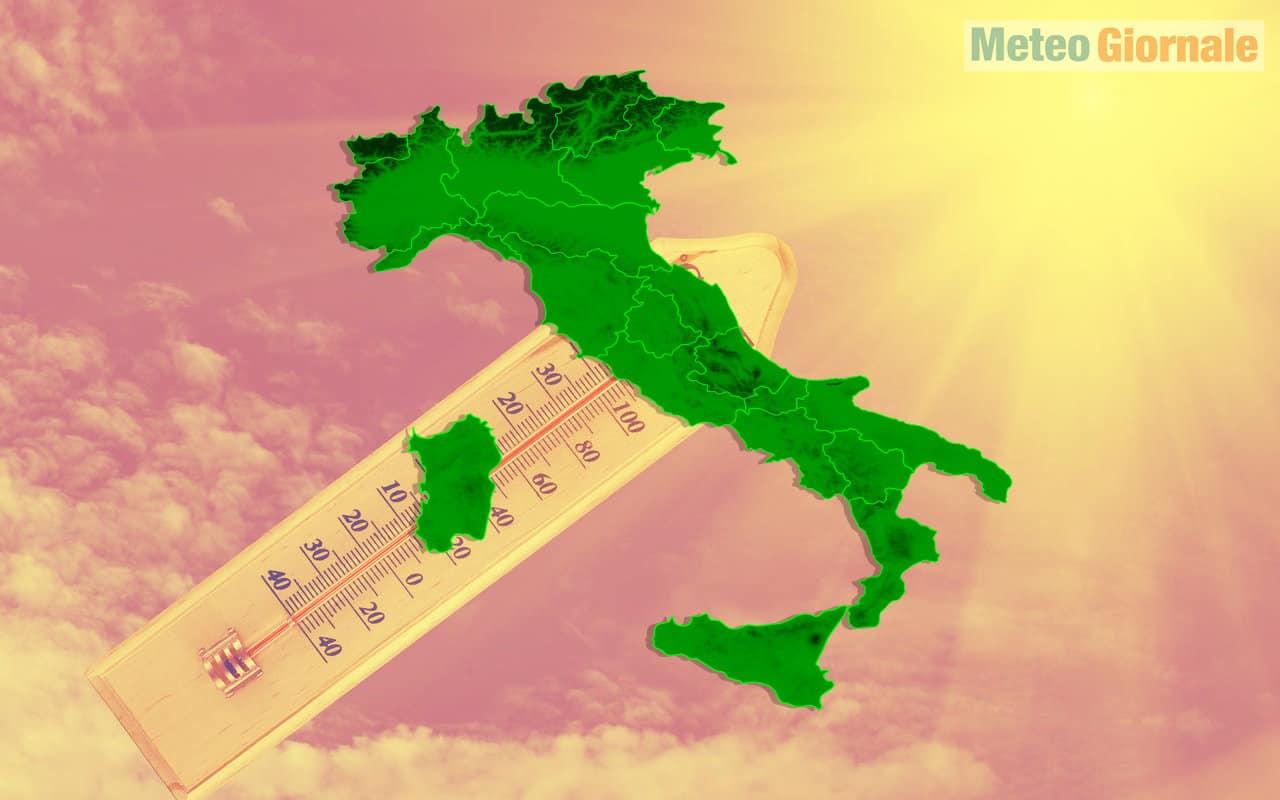 ottobrata 1 - CALDO ANOMALO in Italia, nel meteo di fine mese potrebbe arrivare