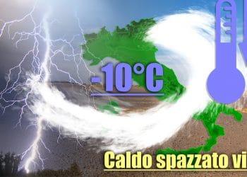 Italia investita da ondata di fresco autunnale