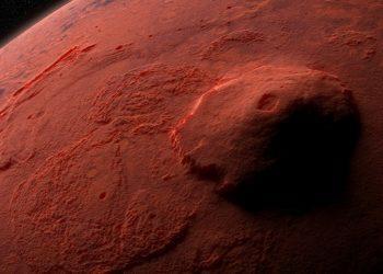 Olympus Mons, vulcano di Marte
