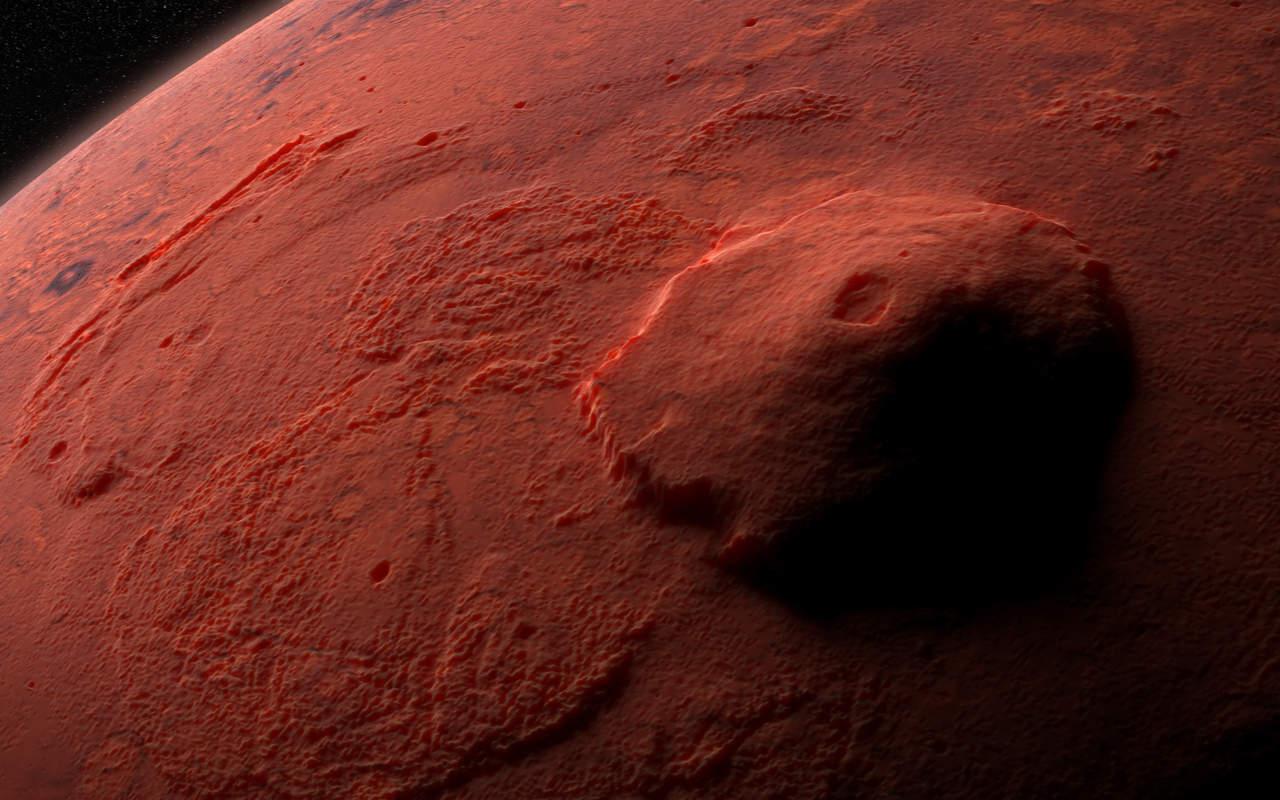 vulcano marte - Marte potrebbe ancora avere dei vulcani attivi